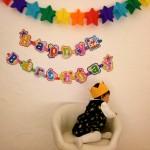 1歳のお誕生日とわんわんプレート